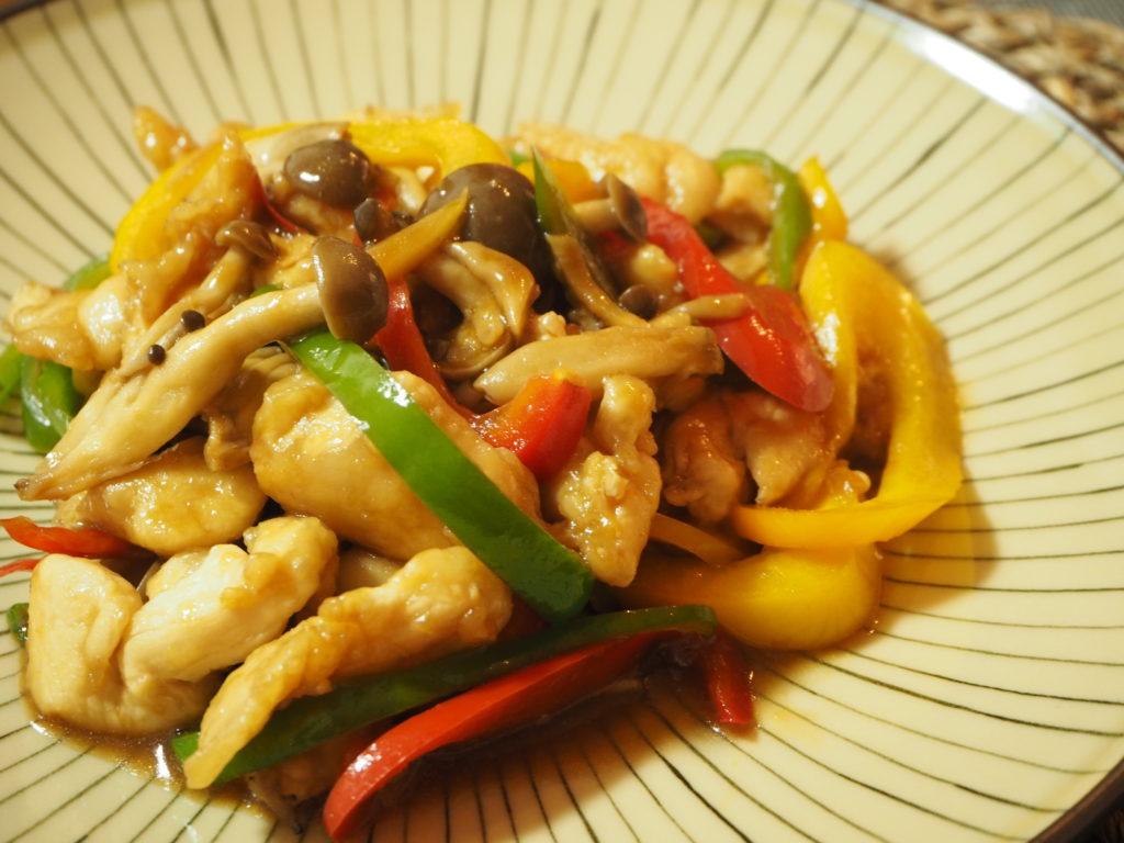ささみと彩り野菜の青椒肉絲