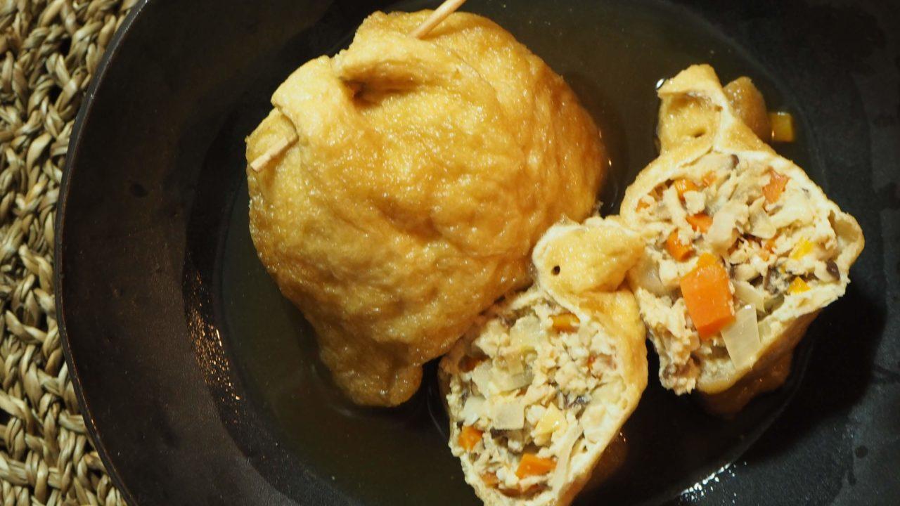 鶏ひき肉とたっぷり野菜の袋煮